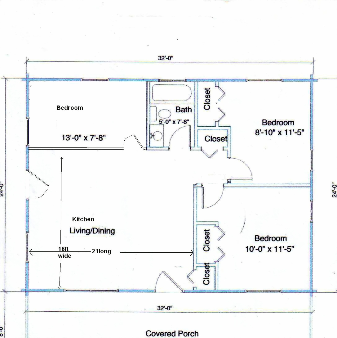 12 X 40 Floor Plans on 16x40 house plans trailer